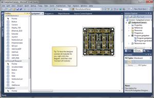 .NET Gadgeteer Application Designer and Toolbox