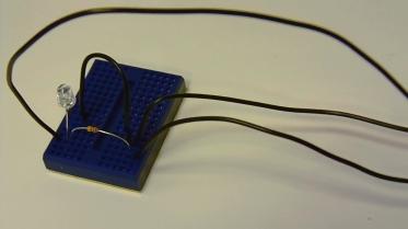 Light Detector Module Breadboard Implementation