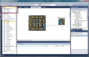 New Module in .NET Gadgeteer Designer Toolbox