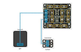 Seeed GPS Module in .NET Gadgeteer Designer