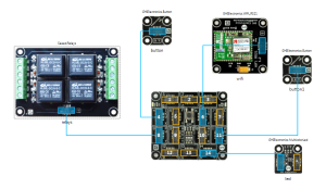 Relays, Buttons, and Wifi Module