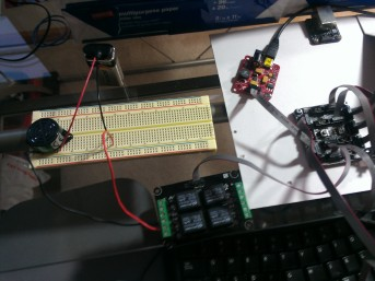 Beeper Circuit with Relay