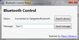 Send Message to Bluetooth Relays
